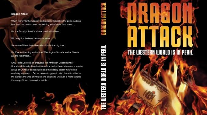 Book Jacket Design: Dragon Attack