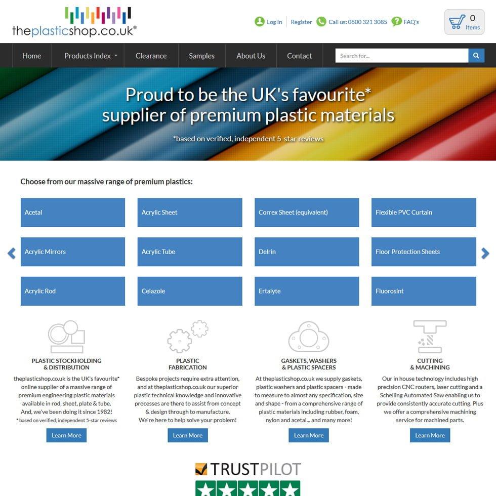 New X-Cart custom website design using bootstrap 3