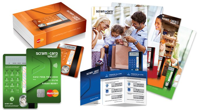 Brochure, Packaging And Payment Card Design For A World Without Financial Fraud.