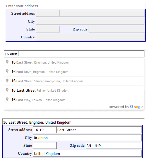 Implementing Google Maps Address Auto Complete In X Cart 4 Zone1