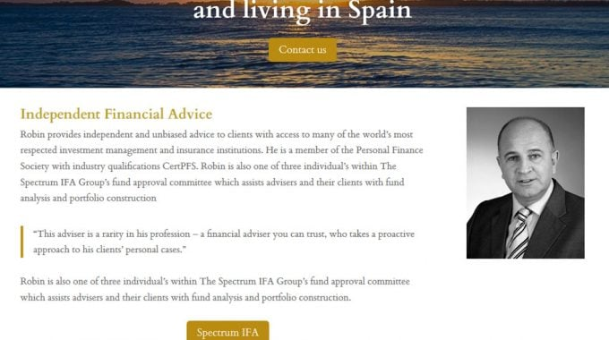 Financial Advice Spain