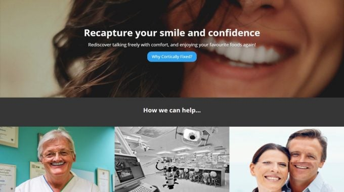 New WordPress Site Launched For Dental Training Workshops